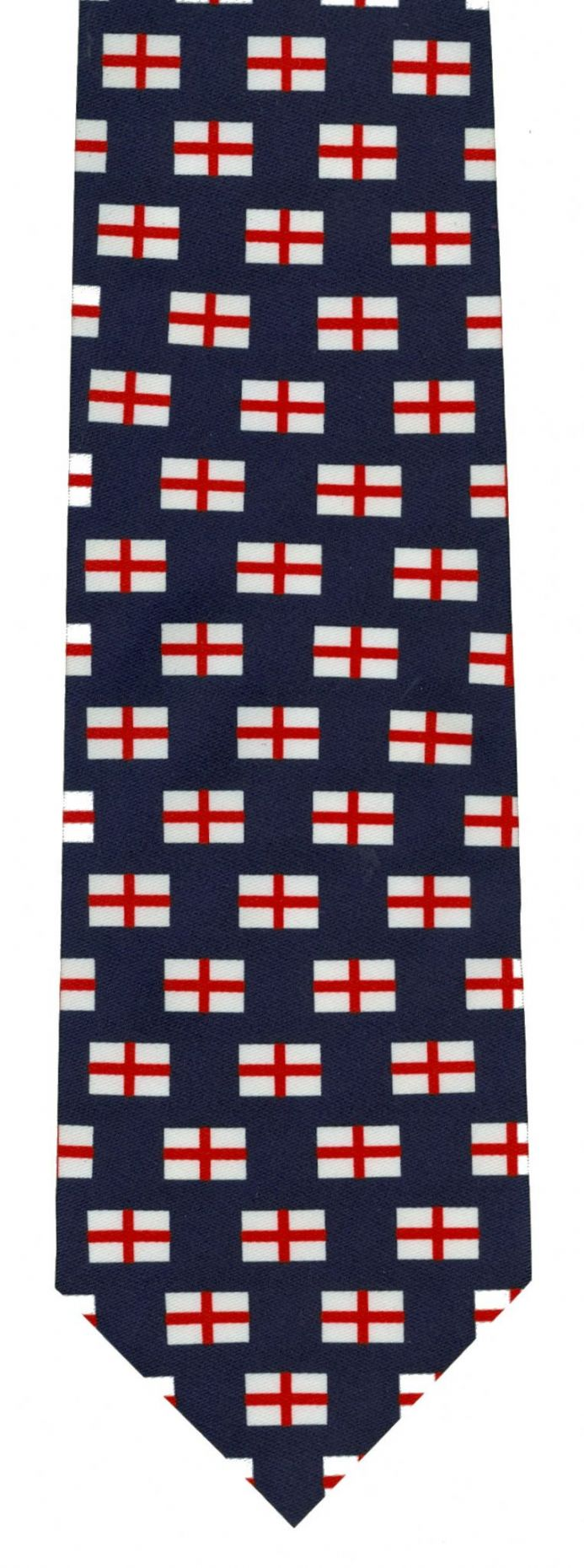 England Tie with Cross of St George design